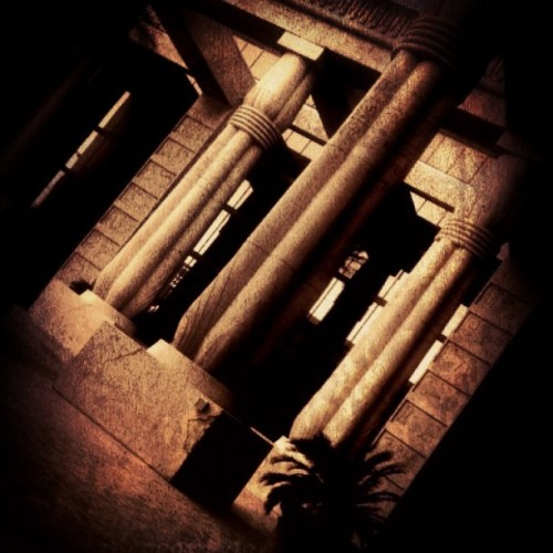 #igers #iphonesia #iphoneography #Luxor #columns #Las #Vegas for my #dirty #30 (Taken with instagram)