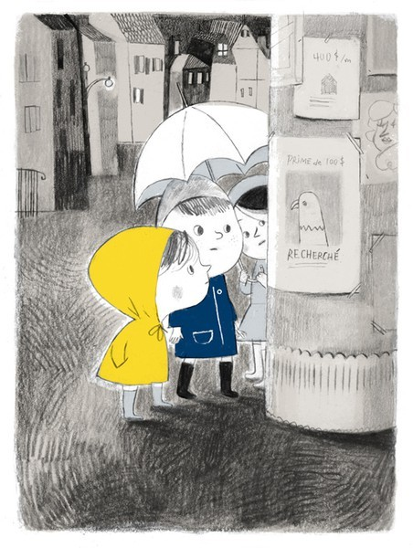 richters:  Rainy day by Isabelle Arsenault