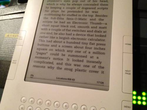 "world-shaker:  Did ""The Hitchhiker's Guide to the Galaxy"" predict the Kindle? via Reddit"
