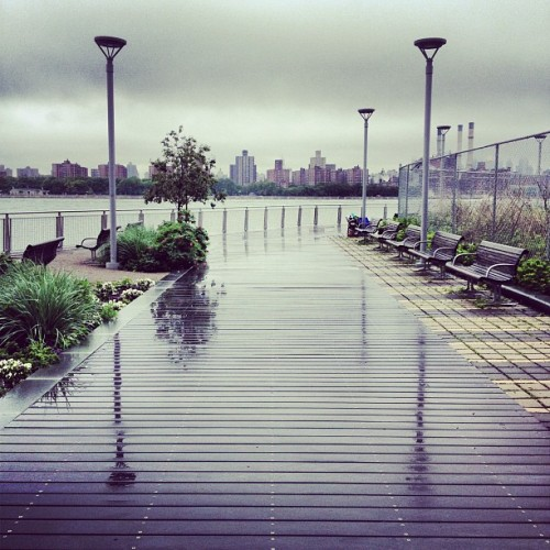 Another rainy day at the pier.  (Taken with instagram)
