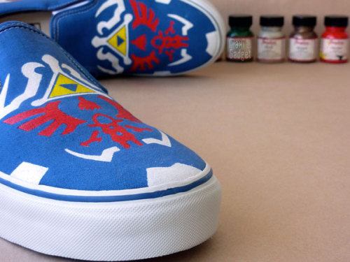 Original VANS Shoes to celebrate 25th Anniversary of Zelda