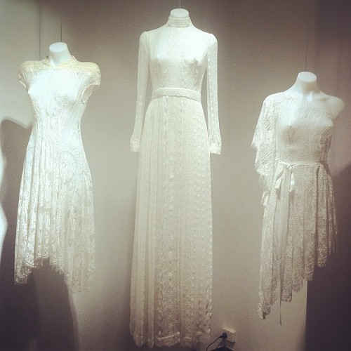 garypeppervintage:  White lace perfection at @lover_thelabel tonight. (Taken with instagram)