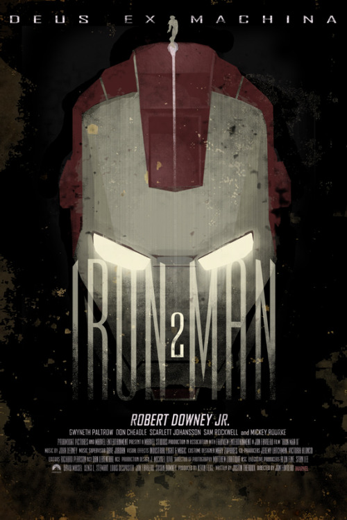 fuckyeahmovieposters:  Iron Man 2 by Duke Dastardly