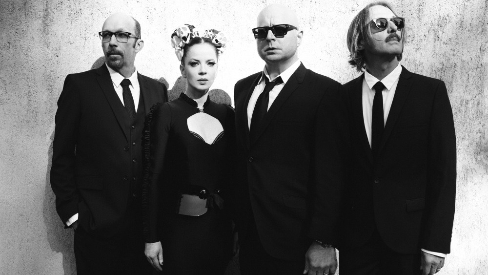 "nprmusic:  ""I wanted to make loud, guitar-driven rock again,"" says Garbage lead singer Shirley Manson, on the band's reunion."