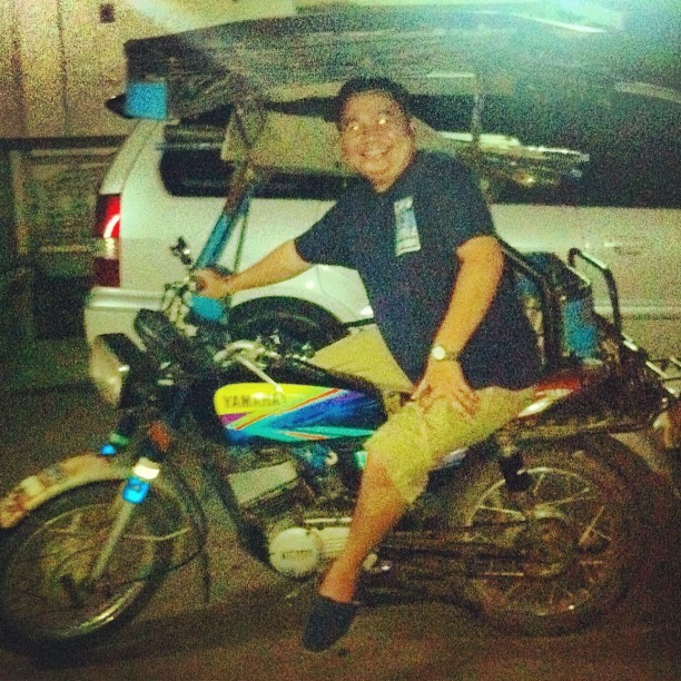 Super bonggang ride ni doc ken 👍✌😁 @ballerinash @musnimae  (Taken with instagram)