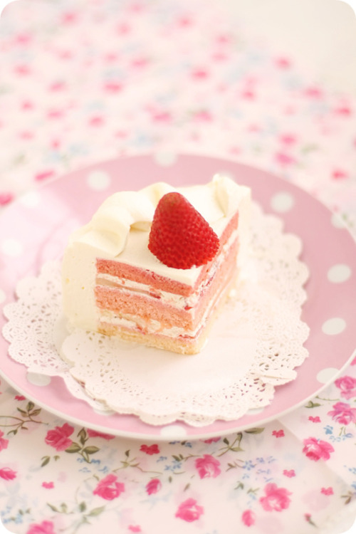 strawberry rose shortcake.