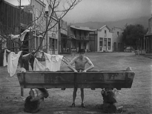 pratfallelegy:  The Gold Ghost (Buster Keaton, 1934)