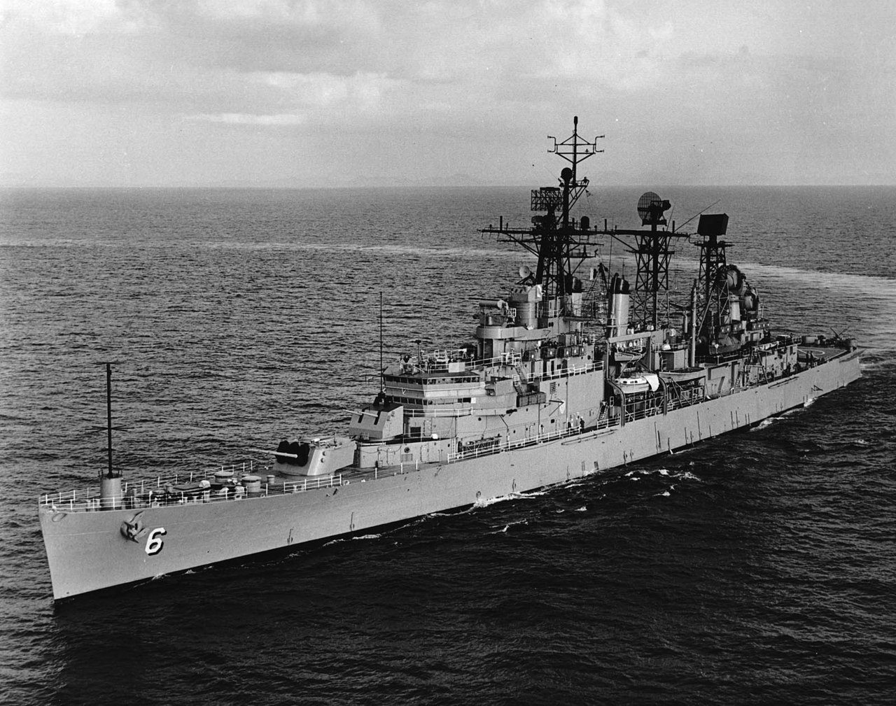 "USS Providence Veterans Recall Operation Lion's Den The Foundation has been busily occupied preparing the new exhibit ""Into the Lion's Den"" for the Cold War Gallery, and on Thursday, 3 May, we were reminded of the reason we strive to build such exhibits in the first place. The National Navy Museum and the Cold War Gallery were honored by a visit from approximately 60 members of the USS Providence (CL 82/CLG 6) reunion group. Amongst the group were two sailors who were on board Providence the night of the pitched battle in Haiphong Harbor: Gary Cheever and Ken Chambers. For those unfamiliar with the exhibit, it centers around a 1972 nighttime raid by four surface warships of the U.S. Navy deep into enemy waters. The ships successfully bombarded enemy shore positions, and with the assistance of A-7 Corsair II aircraft, fended off a counterattack by North Vietnamese torpedo boats. (read the full story here)"