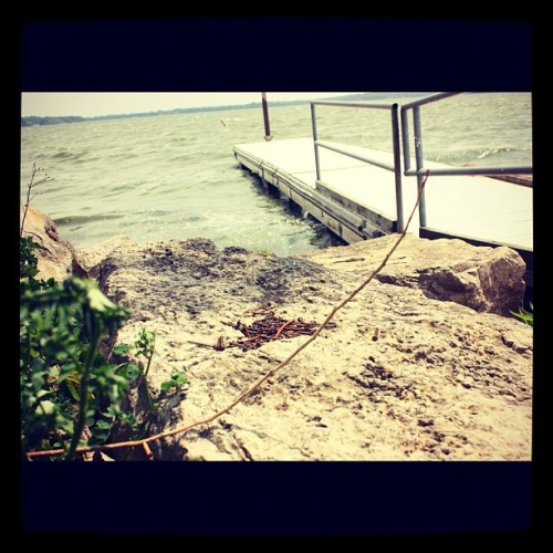 Lake Monona in Madison, WI. #instagram#iphoneography#iphonesia#photooftheday#instagood#jj#ig#igers#lovephoto#iphonography#wisconsin#madison (Taken with instagram)