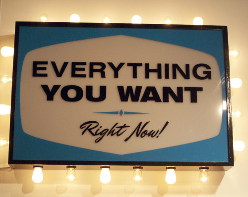 Everything you want, right now! Foto: Andrés Valentín