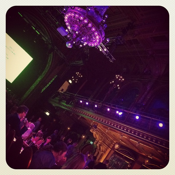 Beckmans Fashion Show Of The Year #fashion #stockholm #berns (Taken with instagram)