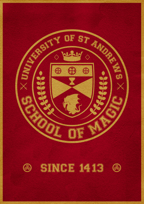 Merlin | University of St Andrews School of Magic 2.0Made for Merlin T-shirt Design Fest
