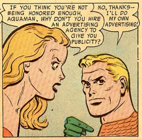 Where Aquaman went wrong? Adventure Comics #226 (July 1956)