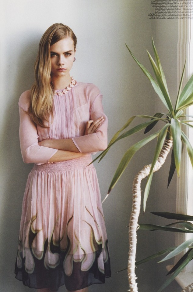 """Love out of lust"" Cara Delevingne by Annabel Mehran for Lula #14"