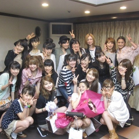 All the wonderful people that attended the Gaki/Mitsi grad~ *cries*