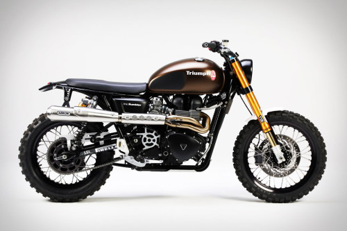 Te awesome Triumph Tridays Rumbler.