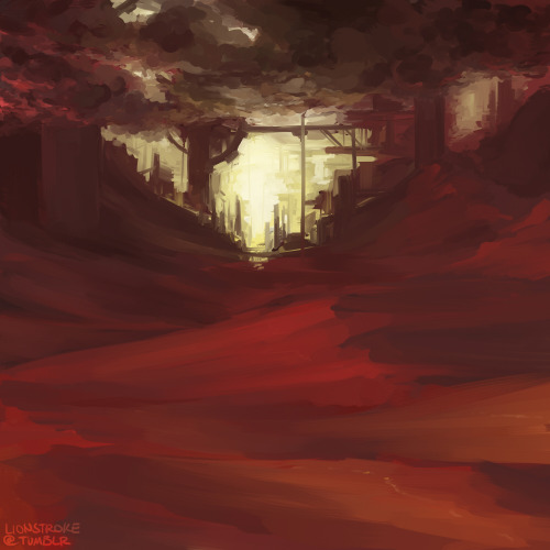 Random environment, just messing around with reds. :3c