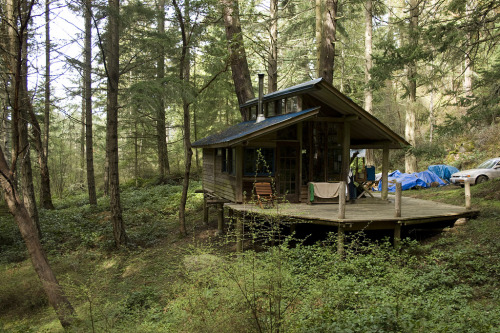 cabinporn:  Cabin on San Juan Island, Washington. Photographed by Kate Sawyer.