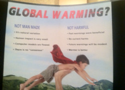 Why climate sceptic is a misnomer. Check the small print