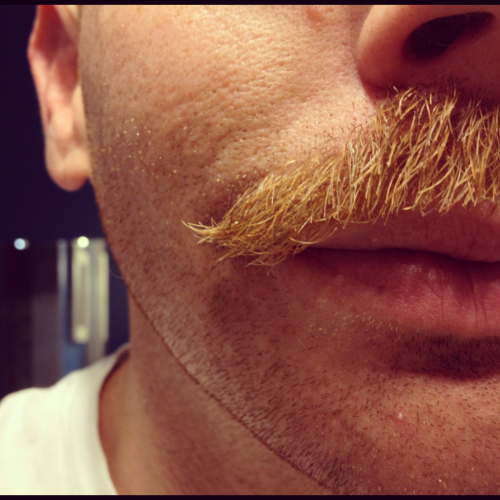 Feeling pretty stache-tastic today!