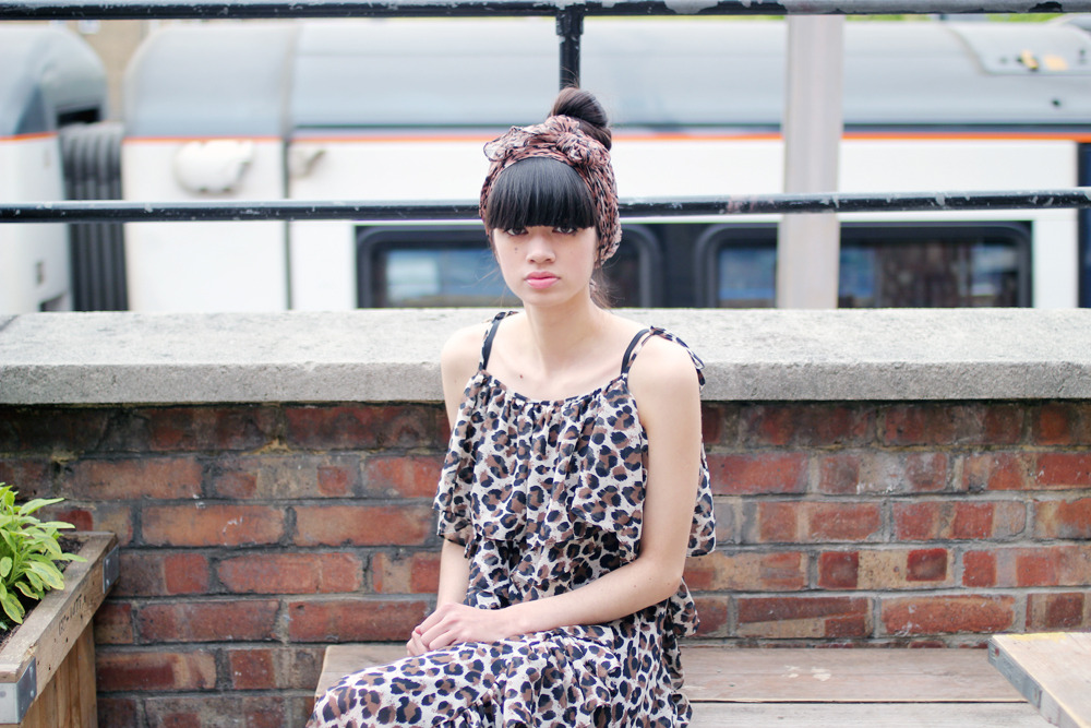 thewhitepepper:  Leopard Summer Long Dress Styling and Photography by THE WHITEPEPPER