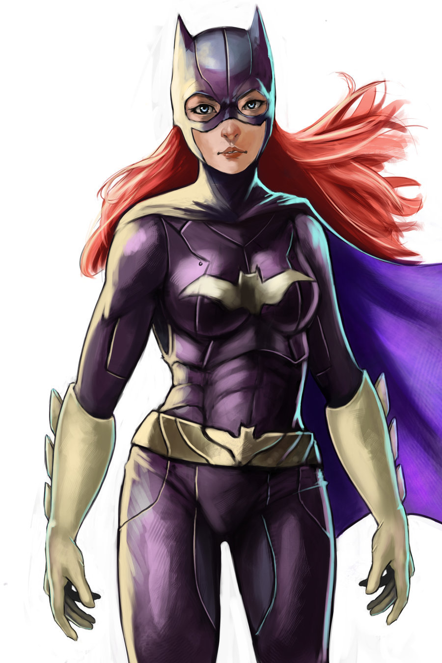 gailsimone:  gailsimone:  fyeahbatgirl:  Batgirl by Robert Boucher-Knight  Man, how do you keep FINDING these? This is lovely!  So pretty, wow!