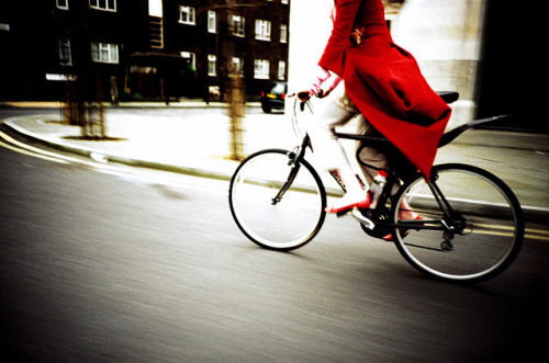 london cycling by lomokev on Flickr.