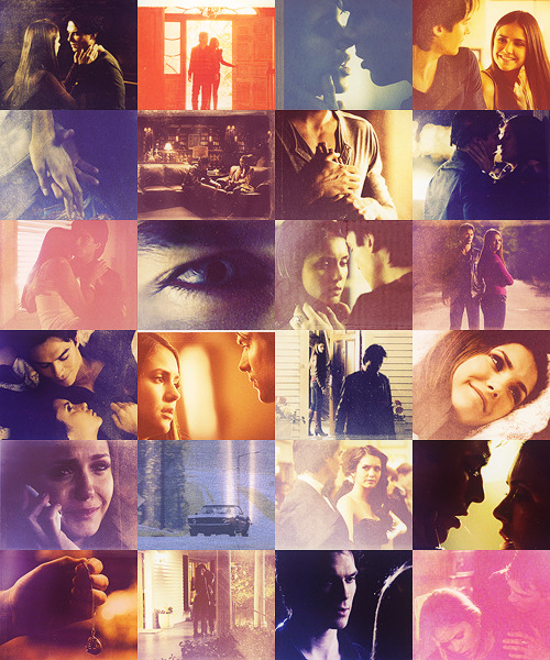 poisonrain:  I have to let you go. favorite caps: damon/elena, season 3