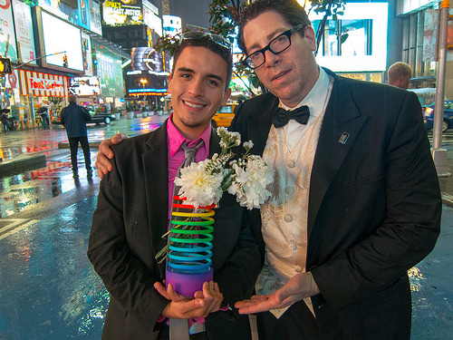 laughingsquid:  Nyan Cat creator Christopher Torres with his custom Nyan Cat Webby Award