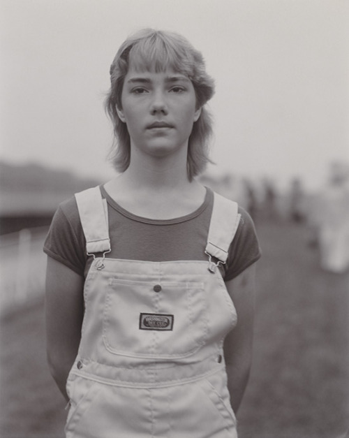 Judith Joy Ross, from Portraits at the Vietnam Veterans Memorial, Washington D.C., 1984