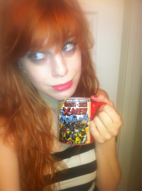 probably going to have to take this bros x-men coffee mug as a party favor