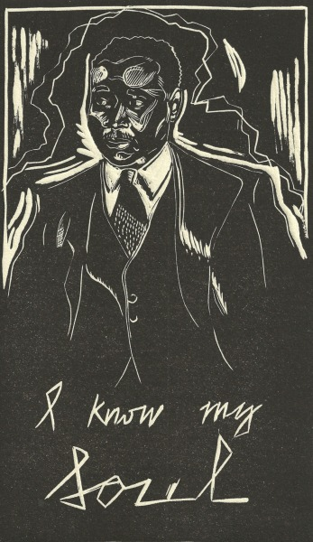 Portrait of Claude McKay by Anna Robinson