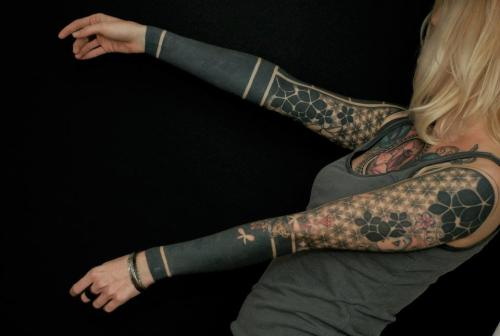 Tattoos done by Gerhard Wiesbeck
