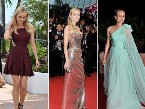 Diane Kruger's Cannes Film Festival fashion statements… Could Diane be any more gorgeous?!