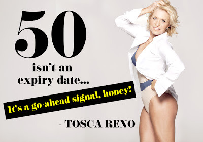 Happy Birthday to our Raise the Bar columnist and Eat-Clean Queen Tosca Reno!  cocowithlove:  Happy Birthday to my idol and wonderful mother Tosca Reno! Eat-Clean and Live forever!