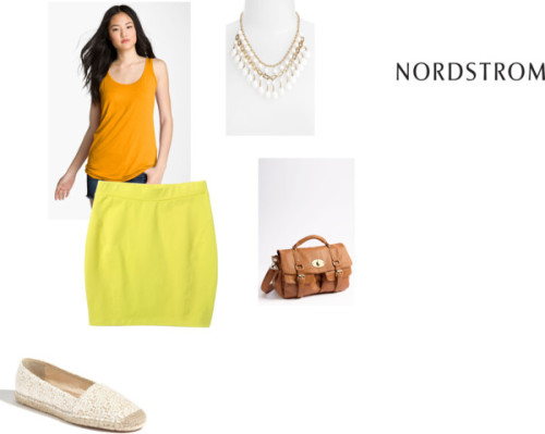 A Place in the Sun, Sponsored by Nordstrom by afffas featuring short skirts