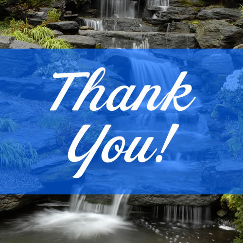 Because of you (yes you!), the Garden has won a $250,000 preservation grant to restore the beautiful little waterfall in the Rock Garden! We would be nothing without you. Seriously. Thank you so much for caring about this very special place! ~AR