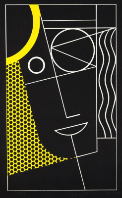midcenturia:  Roy Lichtenstein, Modern Head 2, 1970. via Phillips de Pury