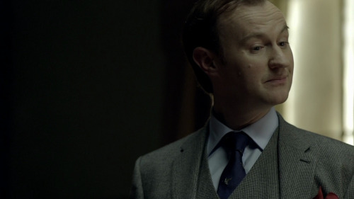 Mycroft is a very complex character. Will we see much more of him? Yes, there's an upcoming shower scene. Mark's going to the gym already. Other than that, yes, we love Mycroft. Became a much bigger, more important than we expected, especially in Scandal. Somehow - for me, anyway - he's the key to Sherlock. Imagining that past, those boys, that home…. Is there any significance of the ring on Mycroft's right hand? It has a concealed laser. Probably.                                                     - Steven Moffat on Mycroft Holmes