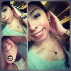 #batman #gauges are finally in 😁 #me  (Taken with instagram)