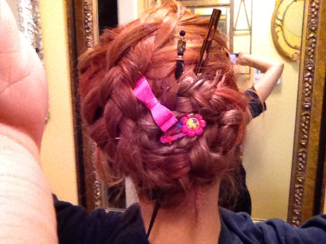 Sometimes I get bored and do stuff like this to my hair