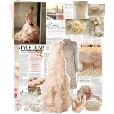Gossip Girl wedding on polyvore