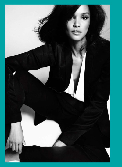 LIYA KEBEDE photographed by Txema Yeste for the may 2012 issue of Harper's Bazaar Spain