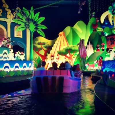 its a small world.. #disneyland #paris #world #instagram  (Taken with instagram)