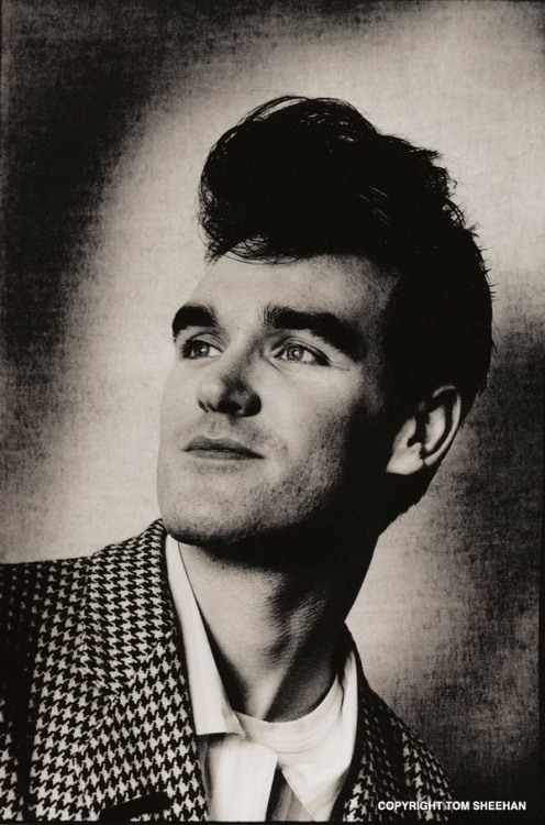 obligatory.  happy birthday, moz. nakedmonkey:  Happy birthday, Morrissey! <3<3<3