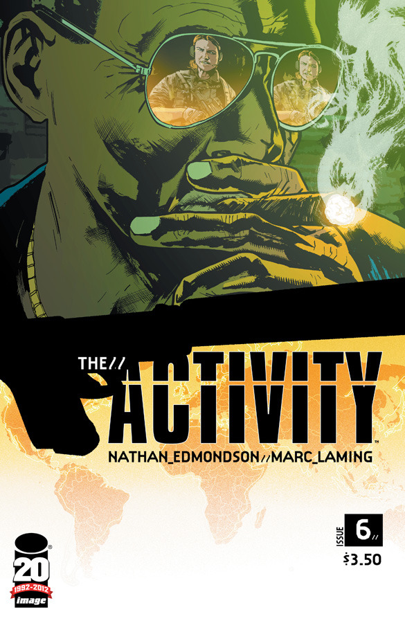 "A Look Inside Black Ops in THE ACTIVITY Comic written with cooperation of members of U.S. Military & Intelligence  They do their work in secret, the goals of their missions and the discipline, teamwork, and skills needed to carry them out well out of the sight of the American public. However, on May 2, 2010, an elite team of Navy SEALs carried out Operation Neptune Spear, killing Osama bin Laden and launching ""Black Ops"" into the American consciousness.  Among the imaginations captured by these elite forces was that of Nathan Edmondson, a writer (WHO IS JAKE ELLIS, DANCER) who was inspired to create THE ACTIVITY, a comic book series that follows the lives of members of the special operations group Intelligence Support Activity. Drawn by Mitch Gerads (with guest issues by Marc Laming), THE ACTIVITY depicts the training and covert missions of Team Omaha within the real-life organization with glimpses of the ""regular"" lives they live where no one knows about their real jobs.  Read the rest at ImageComics.com."