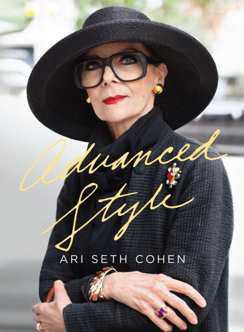 "Congrats to Ari Seth Cohen on the release of his book, ""Advanced Style!"""