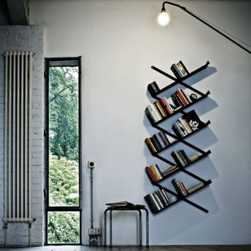 surplus-mag:  Booxx Bookshelf A bookshelf unlike any other designed by Denis Santachiara for Desalto, a furniture company based out of Italy. Now you can finally show off your expansive Hardy Boys collection in style.