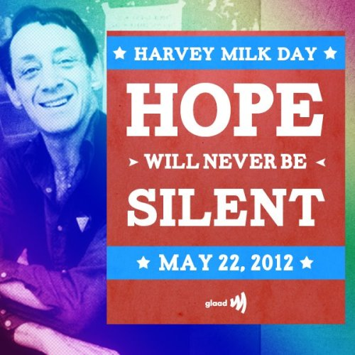 thetrevorproject:  Today is Harvey Milk Day. Happy Birthday, Harvey Milk!  We're Here. We're Queer. And we aren't going anywhere, no matter how much you whine and complain. Nyah