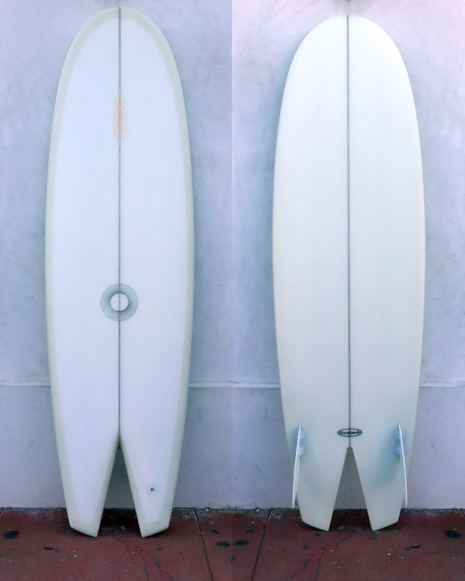 "6'2"" deep space twin fin for royce cansler :)"